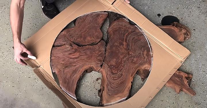 Дерево для стола